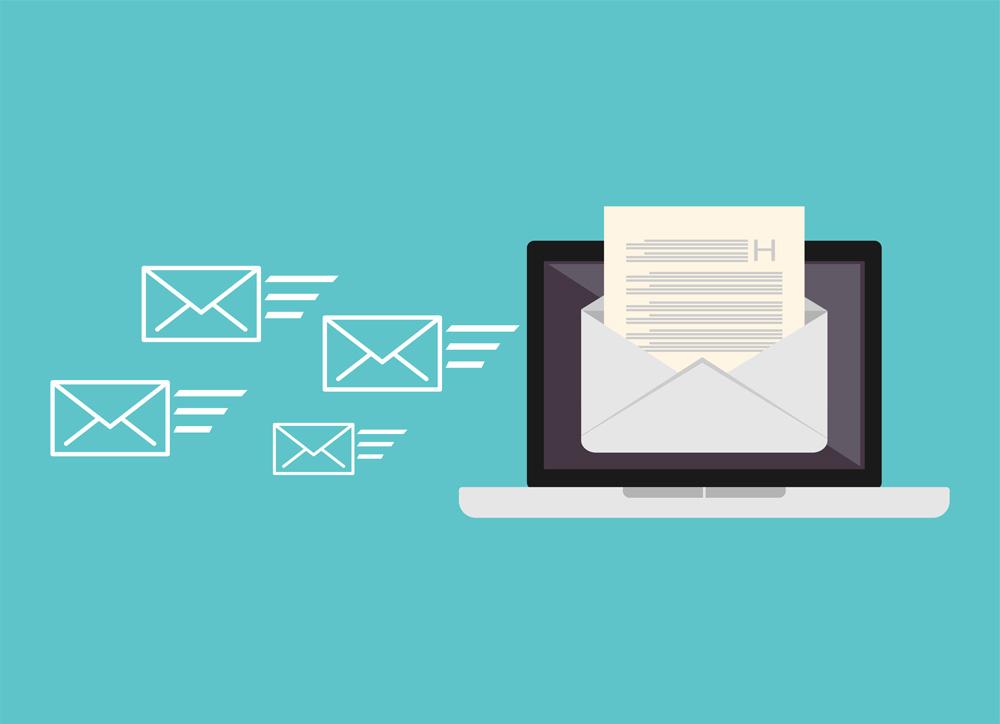 des email en attente d'envoi