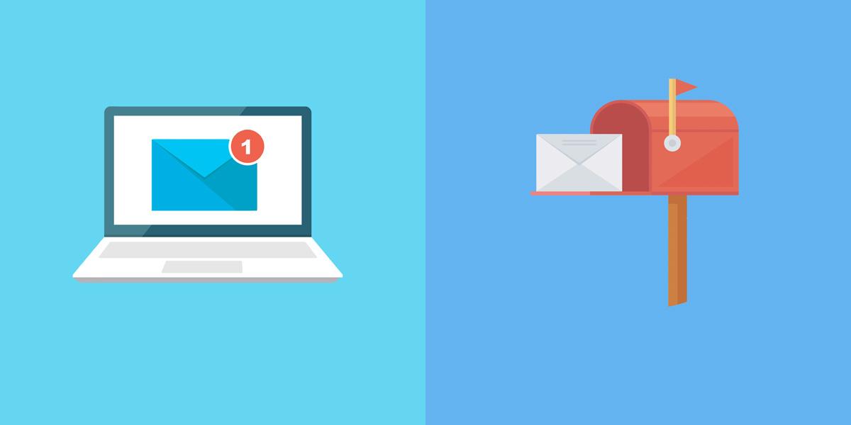 lettre recommandée électronique vs courrier recommandée papier