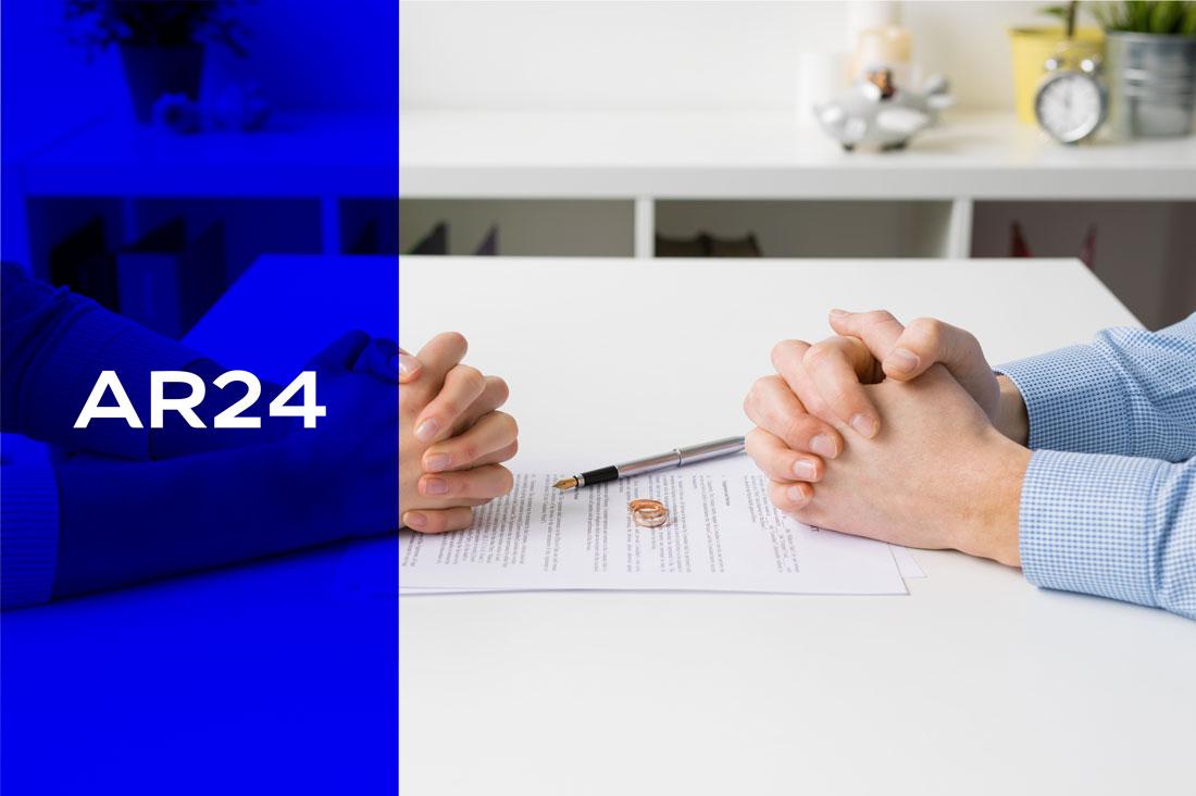 Divorce par consentement mutuel : pourquoi faire confiance à la lettre recommandée électronique AR24 ?