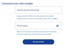 Connexion à votre compte CPF