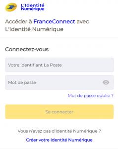 Connexion avec L'Identité Numérique